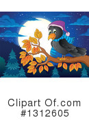 Crow Clipart #1312605 by visekart