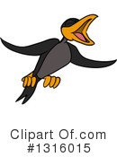 Crow Clipart #1316015 by LaffToon