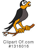 Crow Clipart #1316016 by LaffToon