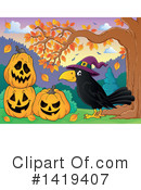 Crow Clipart #1419407 by visekart