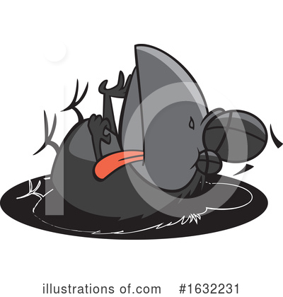 Bird Clipart #1632231 by toonaday