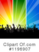 Crowd Clipart #1196907 by dero