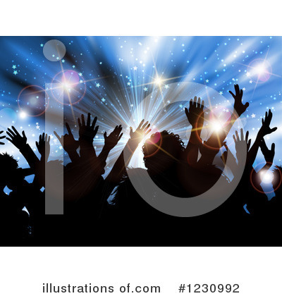 Party Clipart #1230992 by KJ Pargeter