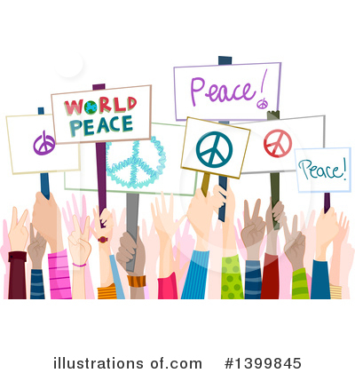 World Peace Clipart #1399845 by BNP Design Studio
