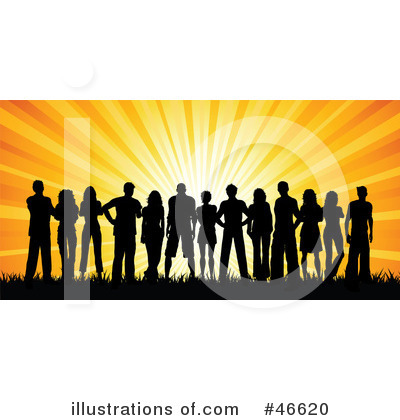 Silhouetted People Clipart #46620 by KJ Pargeter