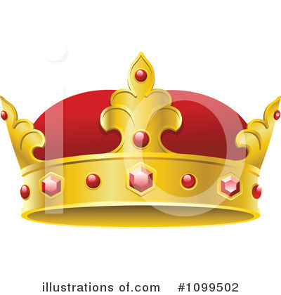 Crown Clipart #1099502 by Vector Tradition SM