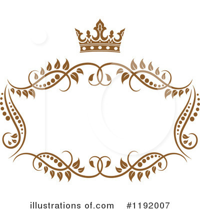 Gold Design Elements Clipart #1192007 by Vector Tradition SM