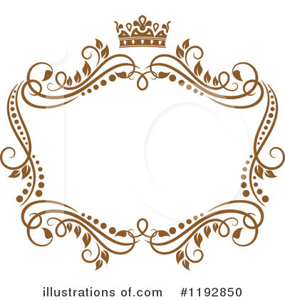 Gold Design Elements Clipart #1192850 by Vector Tradition SM