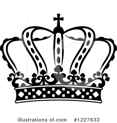 Crown Clipart #1227633 by Vector Tradition SM