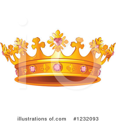Crown Clipart #1232093 by Pushkin