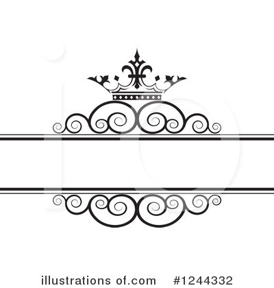 Wedding Frame Clipart #1244332 by Lal Perera