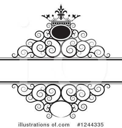 Wedding Frame Clipart #1244335 by Lal Perera