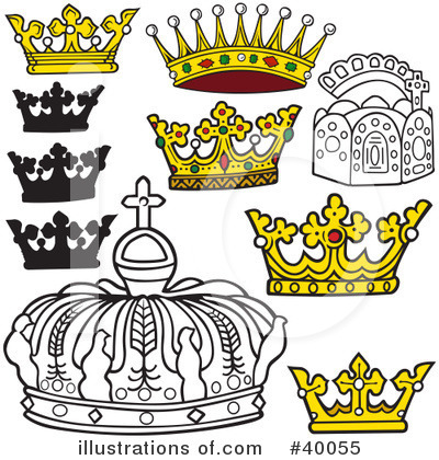 Crown Clipart #40055 by dero
