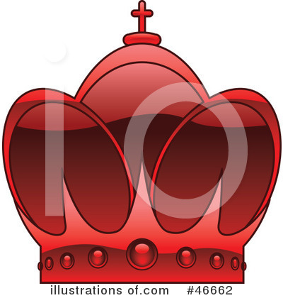 Royalty-Free (RF) Crown Clipart Illustration by dero - Stock Sample #46662