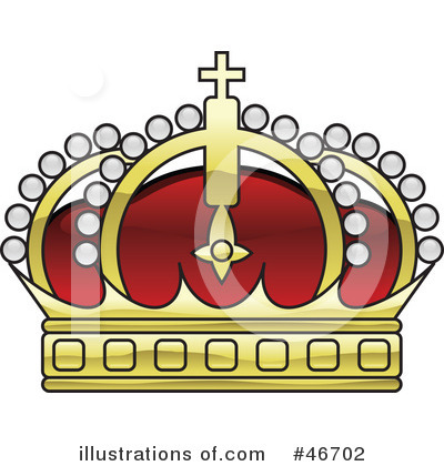 Royalty-Free (RF) Crown Clipart Illustration by dero - Stock Sample #46702