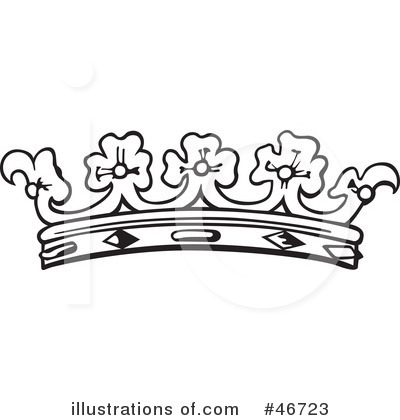 Royal Crown Clipart Black And White Tiara Black And White Clipart