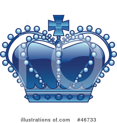 Royalty-Free (RF) Crown Clipart Illustration by dero - Stock Sample #46733