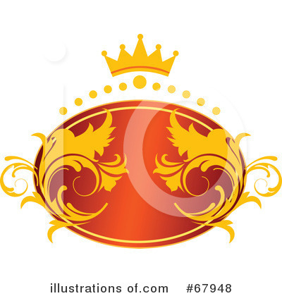 RF) Crown Clipart Illustration by OnFocusMedia - Stock Sample #67948