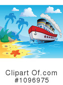 Royalty-Free (RF) cruise ship Clipart Illustration #1096975