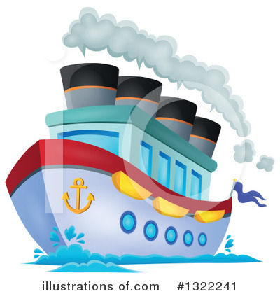 Cruise Ship Clipart #1322241 by visekart