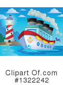 Cruise Ship Clipart #1322242
