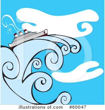 Cruise Ship Clipart #60047 by xunantunich
