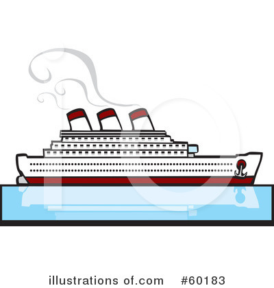 Cruise Ship Clipart #60183 by xunantunich