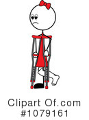 Crutches Clipart #1079161 by Pams Clipart
