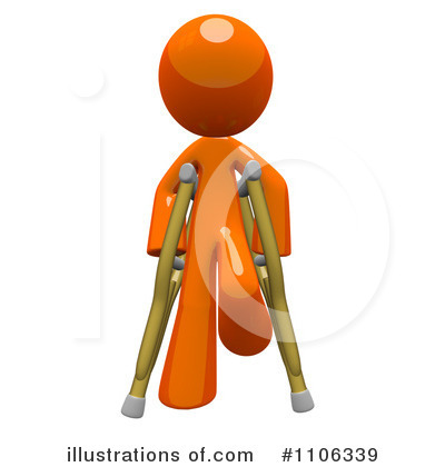 Injury Clipart #1106339 by Leo Blanchette
