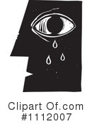 Royalty-Free (RF) Crying Clipart Illustration #1112007