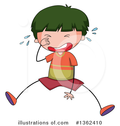 Crying Clipart #1362410 by Graphics RF