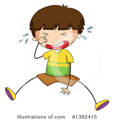 Crying Clipart #1362415 by Graphics RF