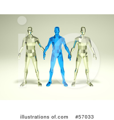 Crystal Man Character Clipart #57033 by Julos