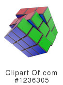 Cube Clipart #1236305 by Mopic