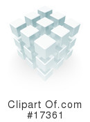 Royalty-Free (RF) Cube Clipart Illustration #17361