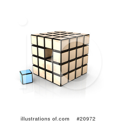 Cubes Clipart #20972 by 3poD