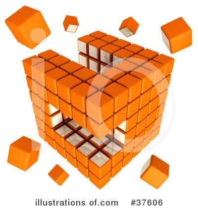 Puzzle Cube Clipart #37606 by Tonis Pan