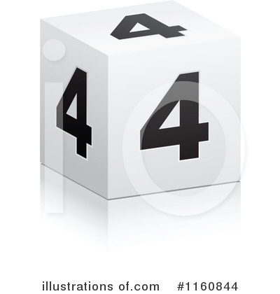 Numbers Clipart #1160844 by Andrei Marincas