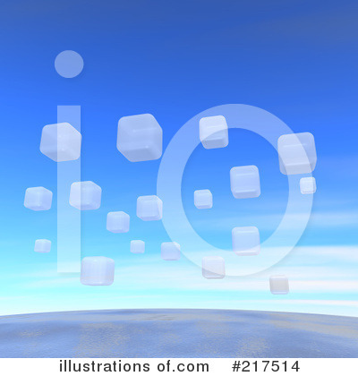 Royalty-Free (RF) Cubes Clipart Illustration by Jiri Moucka - Stock Sample #217514