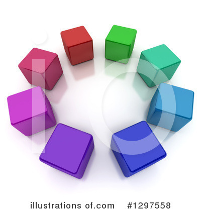Cubes Clipart #1297558 by Frank Boston