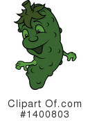 Cucumber Clipart #1400803 by dero