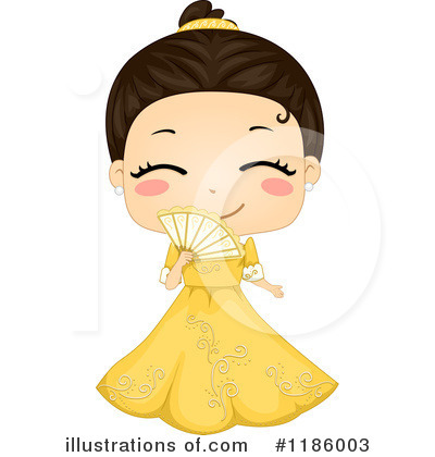 Traditional Dress Clipart #1186003 by BNP Design Studio