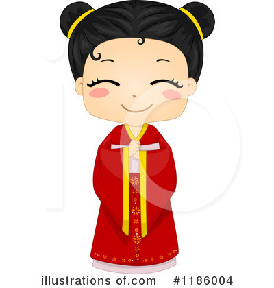 Geisha Clipart #1186004 by BNP Design Studio