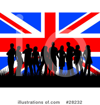 Union Jack Clipart #28232 by KJ Pargeter