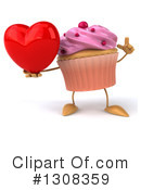 Cupcake Character Clipart #1308359 by Julos