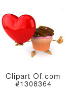 Cupcake Character Clipart #1308364 by Julos