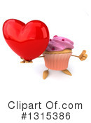 Cupcake Character Clipart #1315386 by Julos