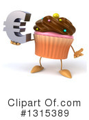 Cupcake Character Clipart #1315389 by Julos