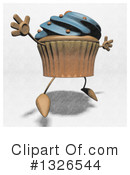 Cupcake Character Clipart #1326544 by Julos