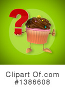 Cupcake Character Clipart #1386608 by Julos